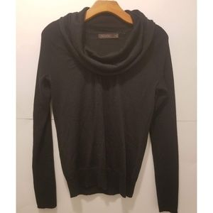 The Limited black scoop neck wool sweater small